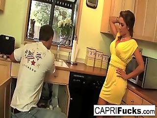 Capri Cavanni Fucks The Plumber