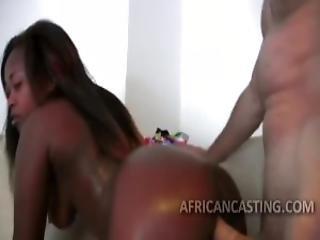 Afrikai, Amatõr, Szopás, Segg, Casting, Fasz, Fekete, Interraciális, Modell