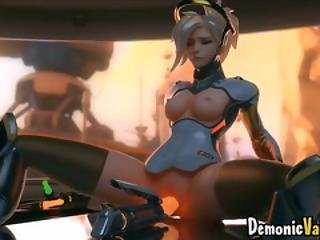 Horny Game Heroes With Big Booty Riding Big Dicks