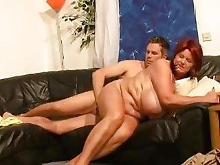 Super Horny Redhair Mature With Big Tits