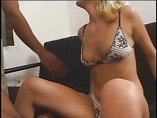 Blonde Chick Loves DP Action