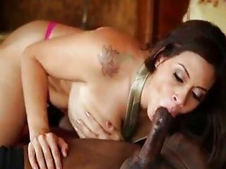 Raylene fucked by a big black cock !