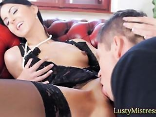 Mistress Bared And Loved By Her Slave