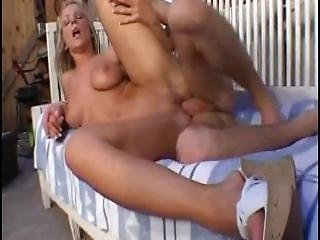 Young Busty Blonde Marit Gets Fucked