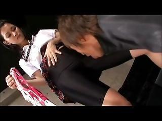 Japanese School Girl Spandex
