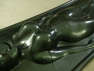 12 Hours In Vacuum Bed Punishment With Vibrator - Epic Video !!!