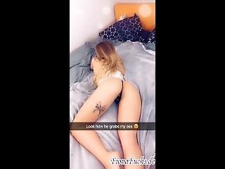 Secret Snapchat Sextape Hot Teen Gets Creampie