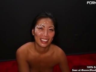 Teagan - Asian Lady In A Blow Bang
