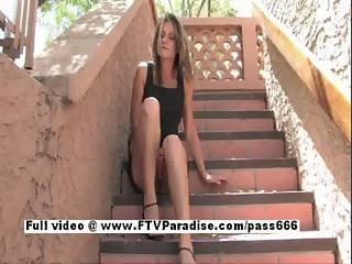 Ftv Girl Brittni Redhead Cute Babe Double Toying Pussy