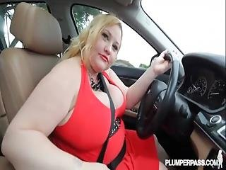 Piggy Blonde Bbw Bitch Loves The Young Cock