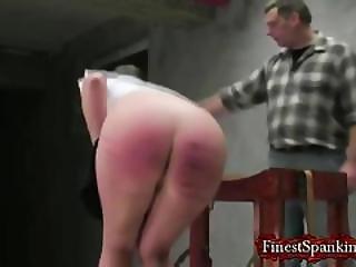 Sexy Blonde Strips Her Cloths