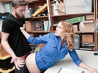 Suspects Hard Cock Fucked Officers Pussy
