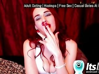 Jennifervegas Smoking Fetish Show