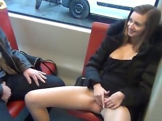 Public Masturbating Girl #4
