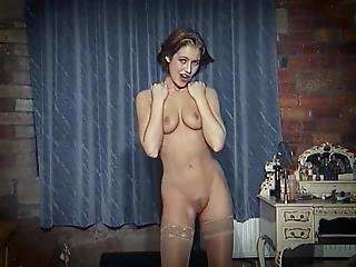 In Your Eyes British Beauty Strip Dance Dildo
