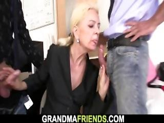Two Guys And A Gorgeous Adult Woman Have A Fuck
