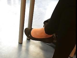 Ballerina, Feet, Fetish, Foot, Hiddencam, Student, Teen, Voyeur