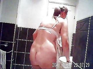 Sarah In Bathroom For All Those Ass Lovers