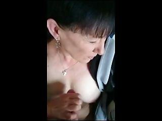 Stephanie From Dates25.com - Homemademature Cute Mom Gives Hj And Cumshot On Tits