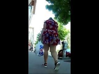 Fatt Ass Upskirt