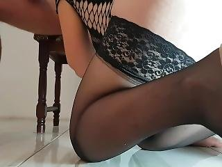Black Stocking, High Heels, Fuck Deep,