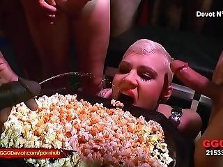 Amy Pink - Cum Piss And Pop Corn - Gggdevot
