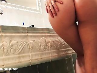 Watch My Teen Girlfriend Having Fun In Stepdads Bathtub - Cocopumpum