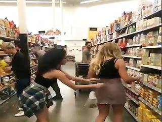 She Was Dared To Pull Of Bestfriend Skirt In Public