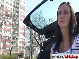 Amateur Pizza Delivery Girl Liliane Pussy Drilled For Money