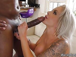 Busty Milf Nina Elle Squirts On Black Cock