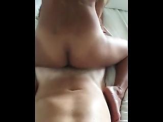 amatoriale, asiatica, cowgirl, scopata, coreana, punto di vista