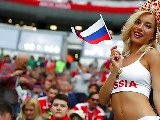 mooi, blonde, beroemdheid, publiek, russisch