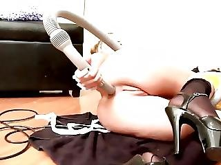 Anal Vacuum Cleaner Power On