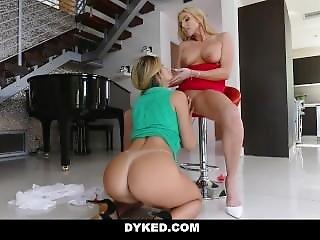 Dyked - Busty Milf Fucks Husbands Hot Mistress
