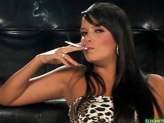 Sasha Cane Leopard Dress Smoking
