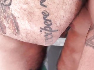 Tattooed Stripped Cocksucking Previous To Raw Fucking