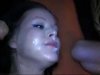 bukkake, kräm, creampie, cumshot, gangbang, tysk, orgie
