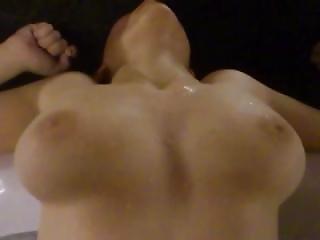 Mega Busty Natural Perfect Tits Teen Fucks Homemade On Jacuzzi Wet
