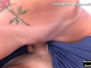 Hot German Blonde Fucking At The Lake