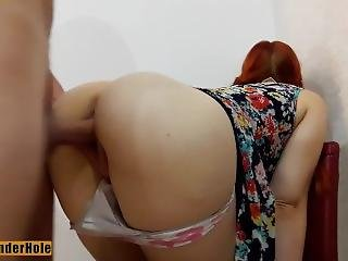 Nerd School Redhead Girl Was Fucked In Wet Pussy And Mouth