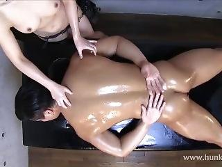 Oiled Massage 1 Extreme Post Orgasm Torture In The End