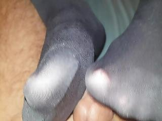 Footjob From My Girlfirend