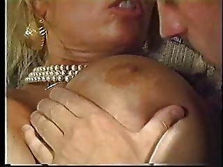 An Insanely Hot Blonde With Fat Tits Gets Banged From The Back