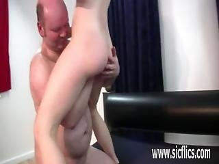 Fisting Her Ruined Sloppy Teen Twat