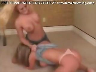 Blonde Problems Lesbian Wrestling Sex