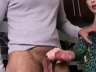 Auntie Makes Nephew Cum - More Video On Billioncam.com