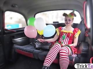 amatör, kostym, offentligt, fitta, sex, taxi, Tonåring