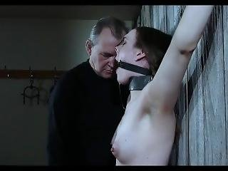 Bdsm,humiliation,handjob,bondage