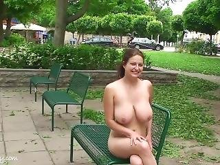 Anja Nude In Public 1 Hd