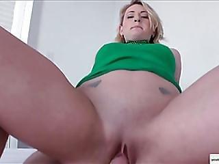 Pretty Natasha Celebrates With A Fat Cock In Her Virgin Bubble Ass